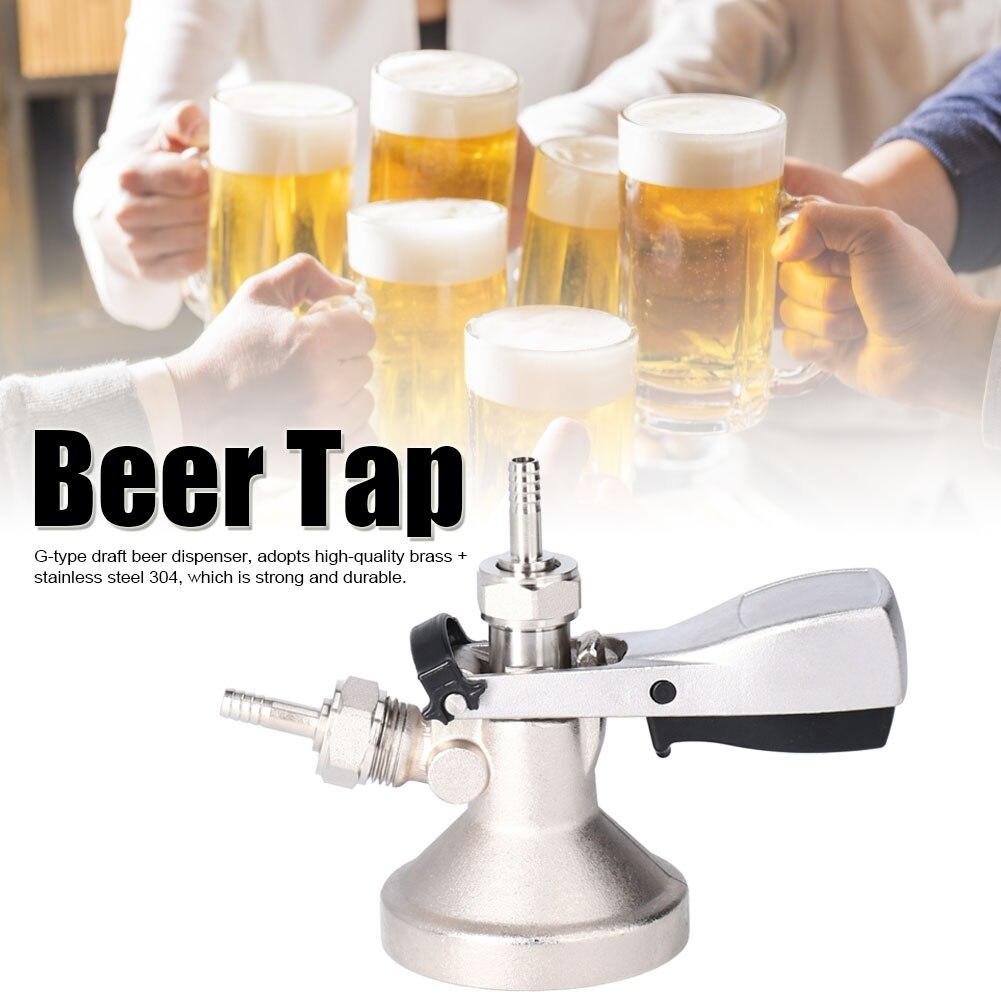 G5/8G نوع موزع الجعة البيرة برميل البيرة الخشبي مقرنة موزع نظام الحنفية موزع المنزل المشروب تخمير الإكسسوارات