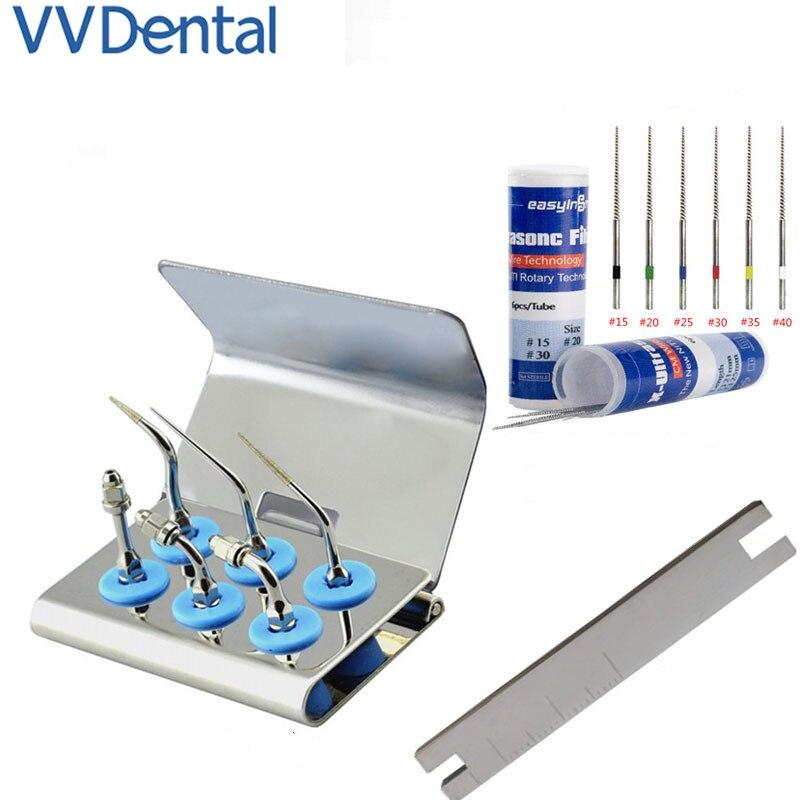 Стоматологический отбеливающий скалер для зубов, эндододонтические ультразвуковые наконечники, пилка для корневого канала, подходит для ф...