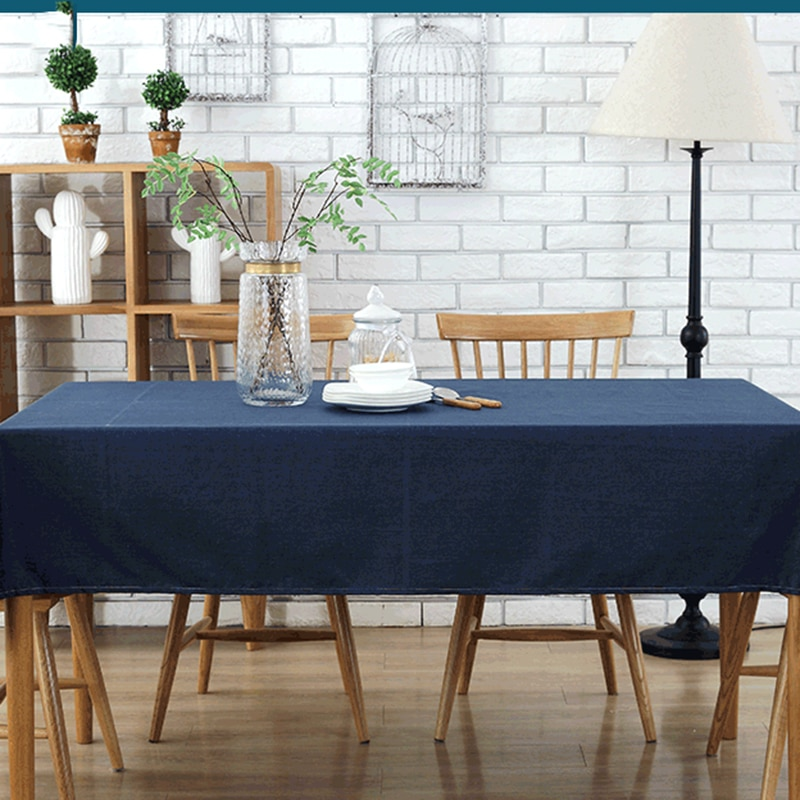Yi dian Europeu Minimalista Mesa de Café Toalha de mesa de Algodão À Prova D Água de Mesa Home Hotel Pano