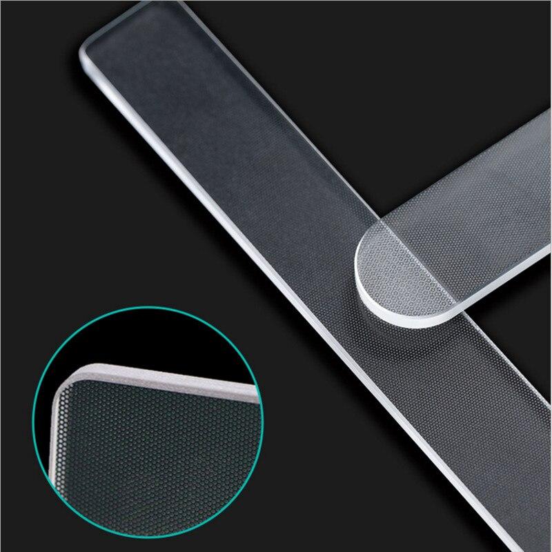 9cm Professional Nano Glass Nail File Transparent Sanding Polishing Grinding Nail Art Manicure