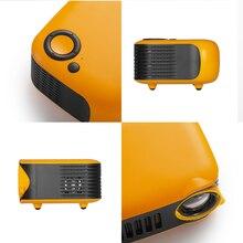 New A2000 Mini Projector 320x240 Pixels 800 Lumens Portable LED Home Multimedia Video Player Built-i
