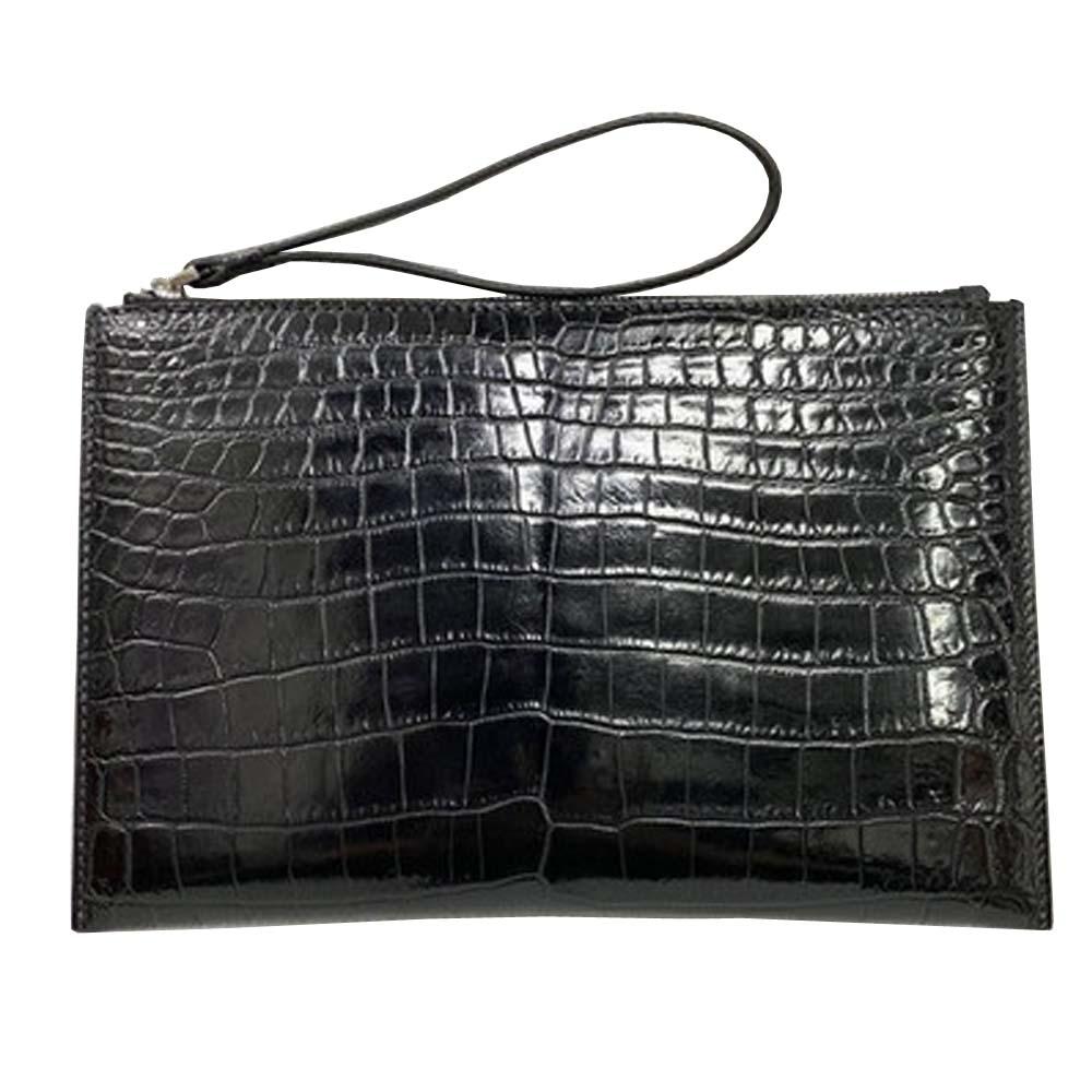 hongsen male  crocodile  handbags  Hand caught  fashion  men envelope bag  crocodile  men clutch bag  male  Hand bag