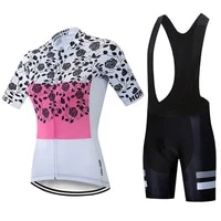 womens summer cycling suit mtb road bike cycling jersey short sleeve and bib cycling jersey completo ciclismo estivo 2021