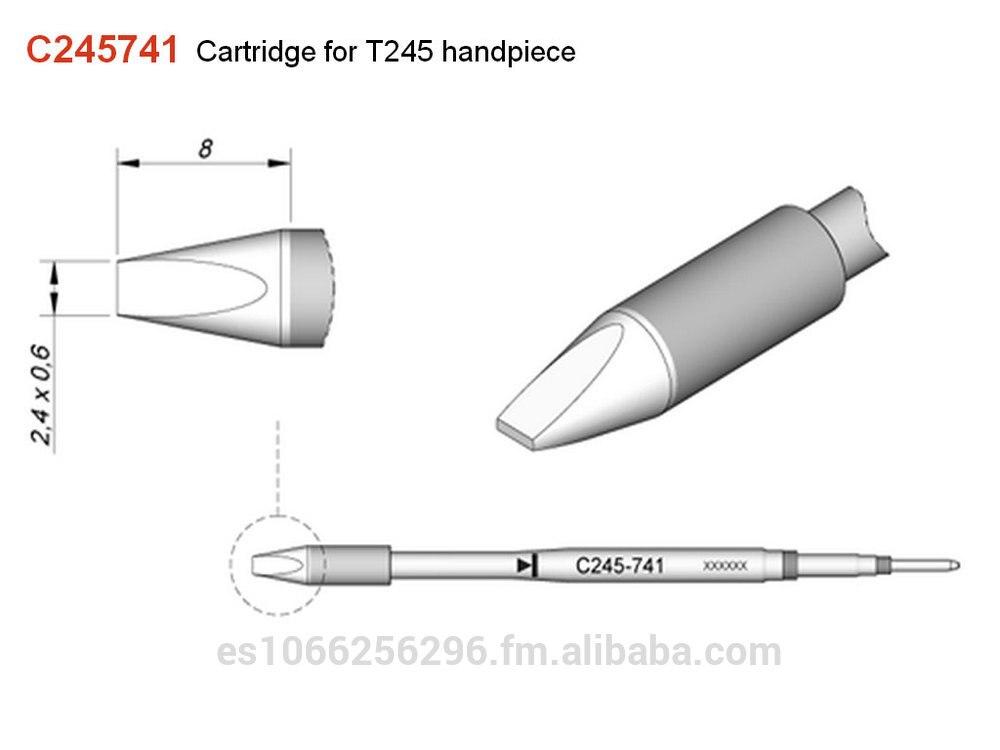 Jbc ponta de ferro de solda C245-741 dicas