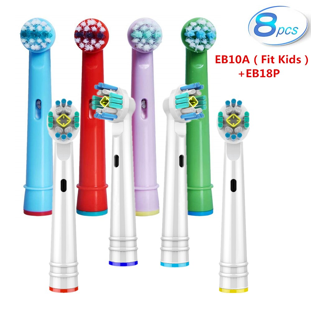 Replacement Toothbrush Heads For Braun Oral B Electric Toothbrush - 8pcs Sensitive Gum Care oral b Brush Heads Advance Power compatible oral a b sensitive gum care electric toothbrush replacement brush heads sensitive brush heads extra soft bristles