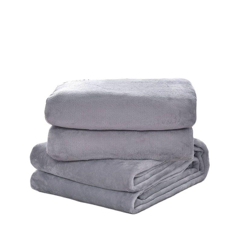 رمي بطانية ل أريكة رمي/سرير/السفر خفيفة رقيقة الميكانيكية غسل البطانيات المرجان الصوف الدافئة لينة غطاء سرير المفارش