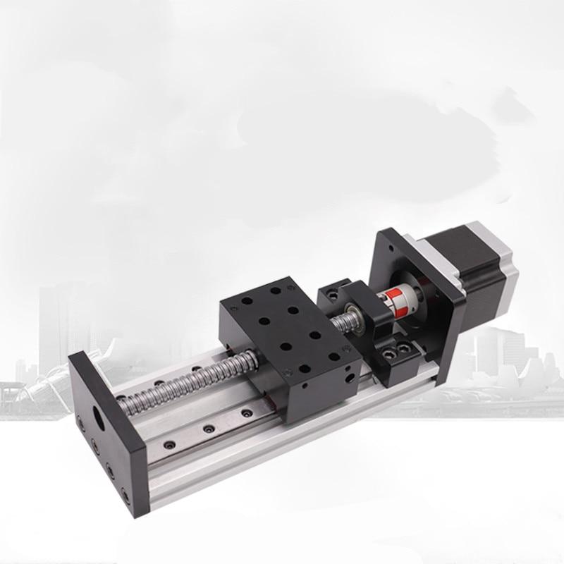 CNC 1605-شريحة لولبية كروية دقيقة ، دليل خطي مزدوج المسار/وحدة كهربائية NC/محرك تروس صناعي المناور