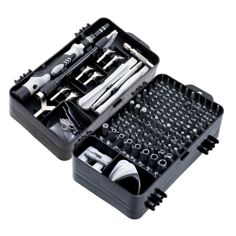 135/25 in 1 S2ドライバーセットスクリュードライバービットセット、多機能精密携帯電話修理装置、手工具