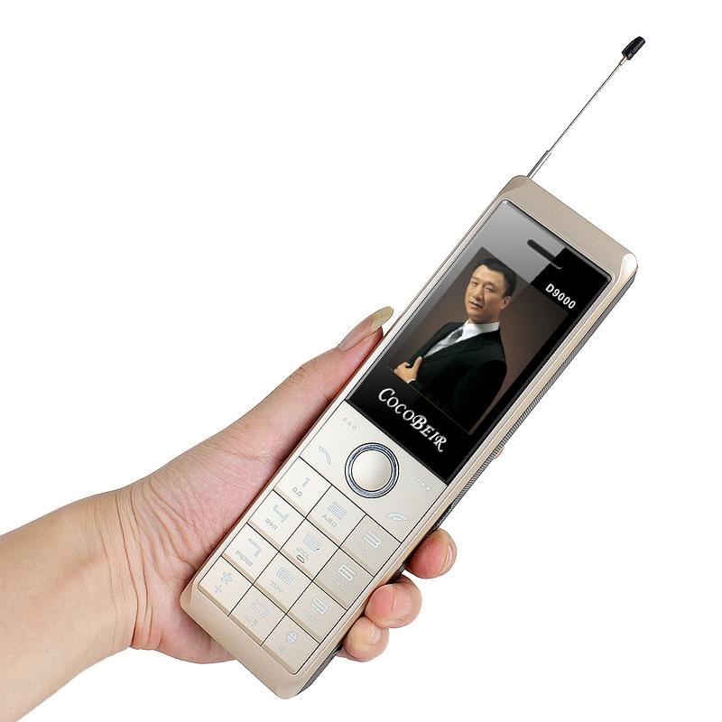 Teléfono Móvil súper grande Retro de lujo sonido fuerte Dual SIM Real 8700mAh banco de energía teléfono móvil de larga espera