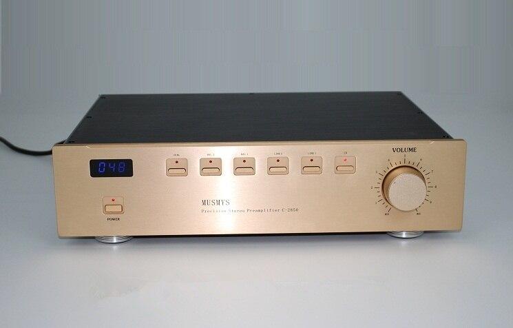 PREAMPLIFICADOR C2850 Pre preamplificador de amplificador preamplificador Pre amplificador salida XLR Real es mejor en China