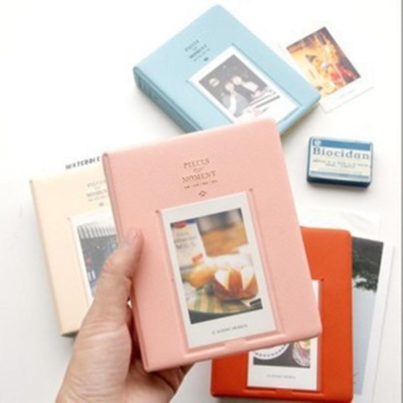 64 Pockets Photo Album Mini Instant Picture Case Storage For Fujifilm Instax Mini Film 8 Korea Instax Album Fotografia