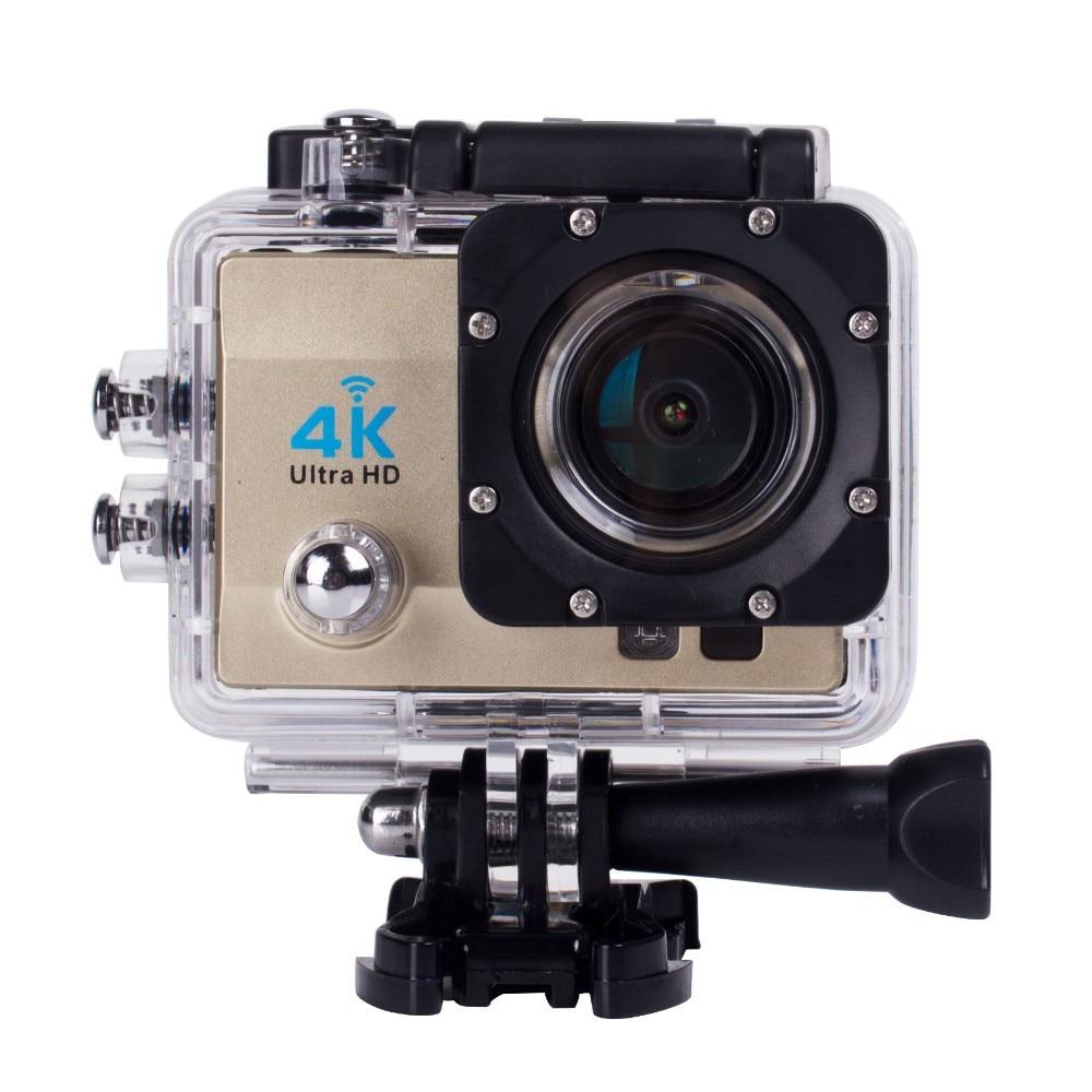 "Cámara de Acción Ultra HD 4K / 25fps WiFi 2,0 ""170D Cámara subacuática Go impermeable Pro Helmet Sport Cam para montar en escalada"