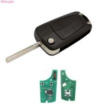 Wilongda clé automatique 2 boutons clé à distance 434MHZ pcf7941 puce pour Opel Opel VAUXHALL et ASTRA H clé de voiture