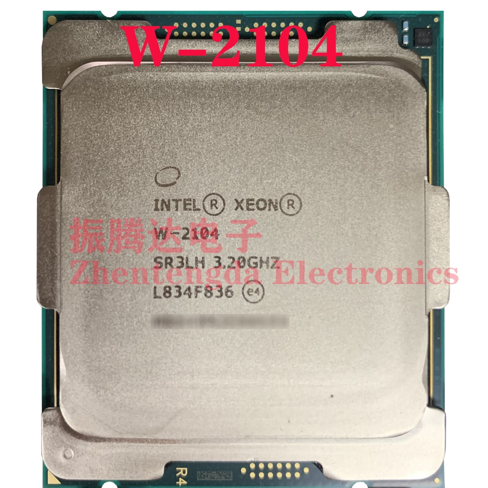 Intel Xeon W-2104 Processor 3.2GHz L3-8.25MB 4 Core 4 Thread LGA 2066 W-2104 CPU Processor
