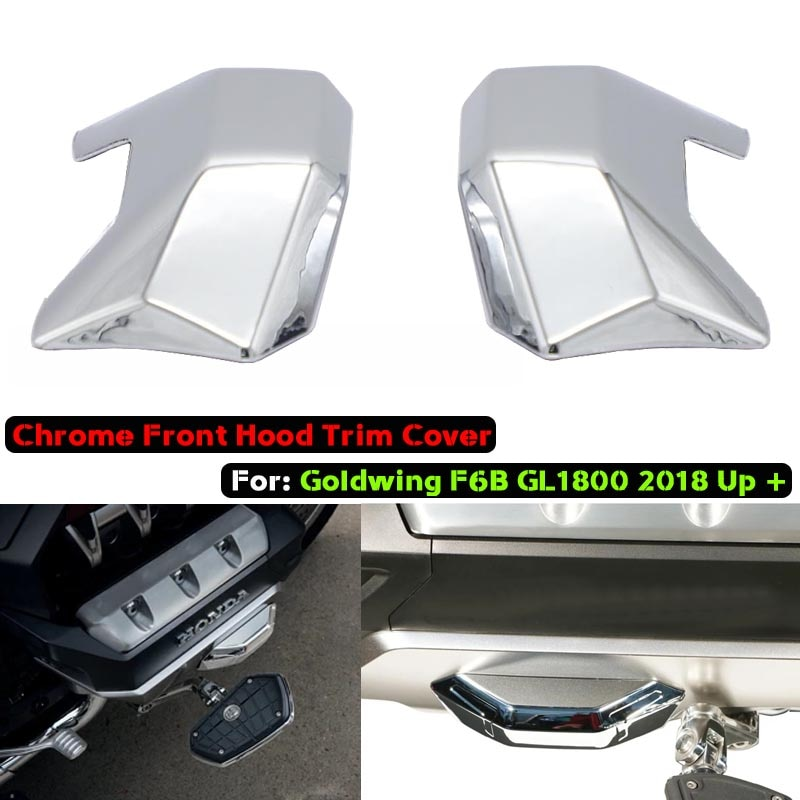 Для Honda Goldwing F6B GL1800 Gold Wing Tour DCT подушка безопасности передняя крышка мотоцикла хромированная отделка запчасти 2018 2019 2020