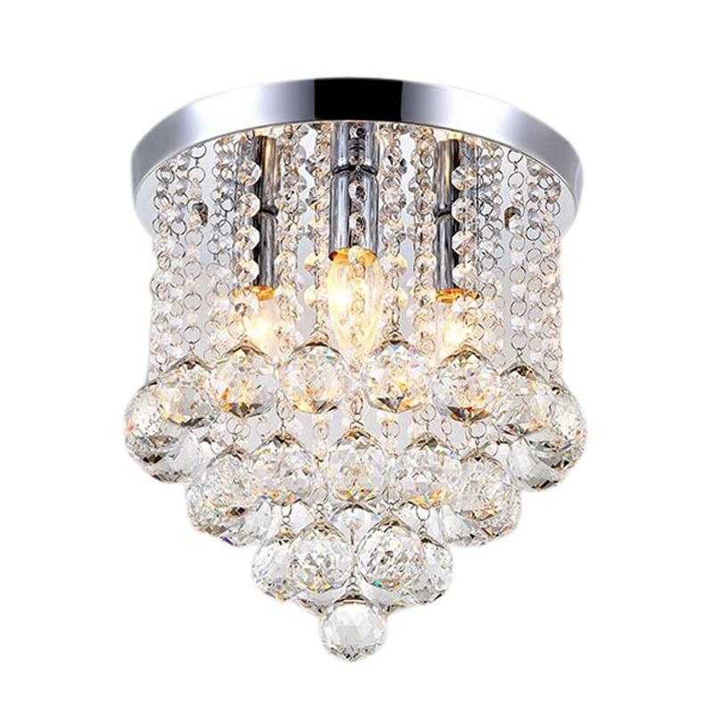 جديد مصباح مستدير مصباح Led كريستالي للسقف لغرفة المعيشة مصباح داخلي ديكور المنزل