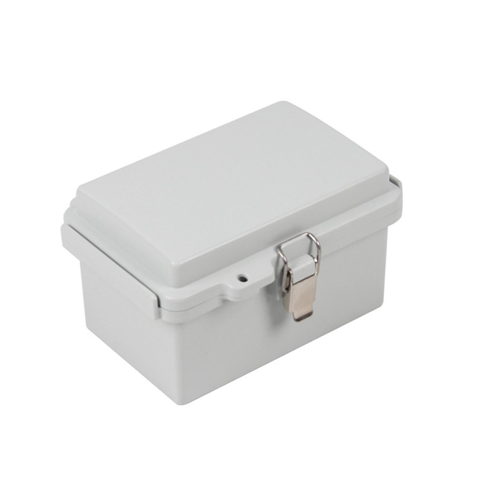 IP66 علبة توزيع إلكترونيات كهربائية ، مشبك ABS مقاوم للماء صندوق وصلات ، البلاستيك الضميمة ، توزيع الإسكان في الهواء الطلق أداة الإسكان