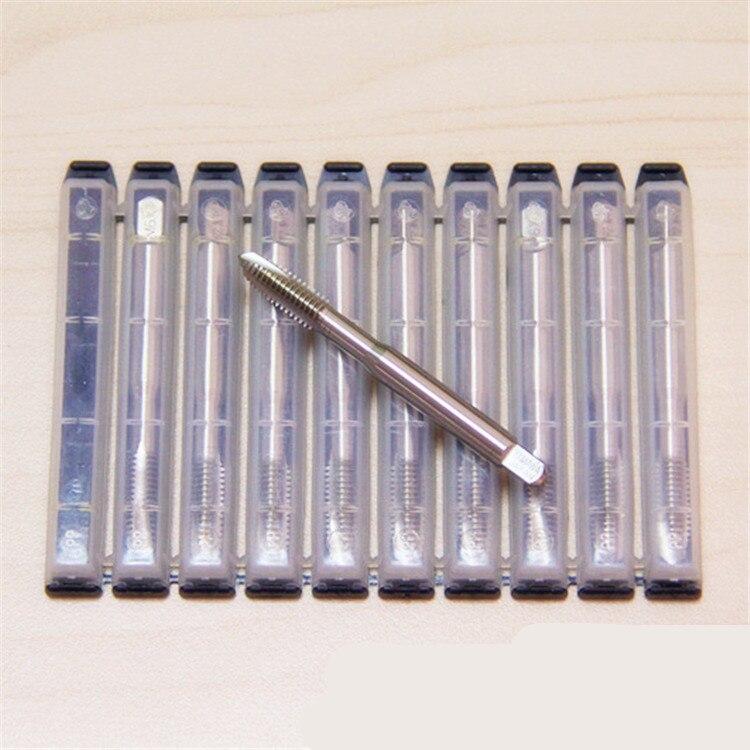 5 pçs yamawa hsse reta flauta máquina tap M2-M20 n + sp/n + po