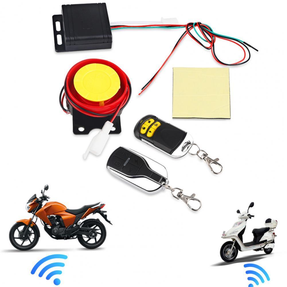 Фото - 1 комплект противоугонное устройство умная простая в использовании водонепроницаемая система безопасности для мотоциклов противоугонная ... противоугонное устройство