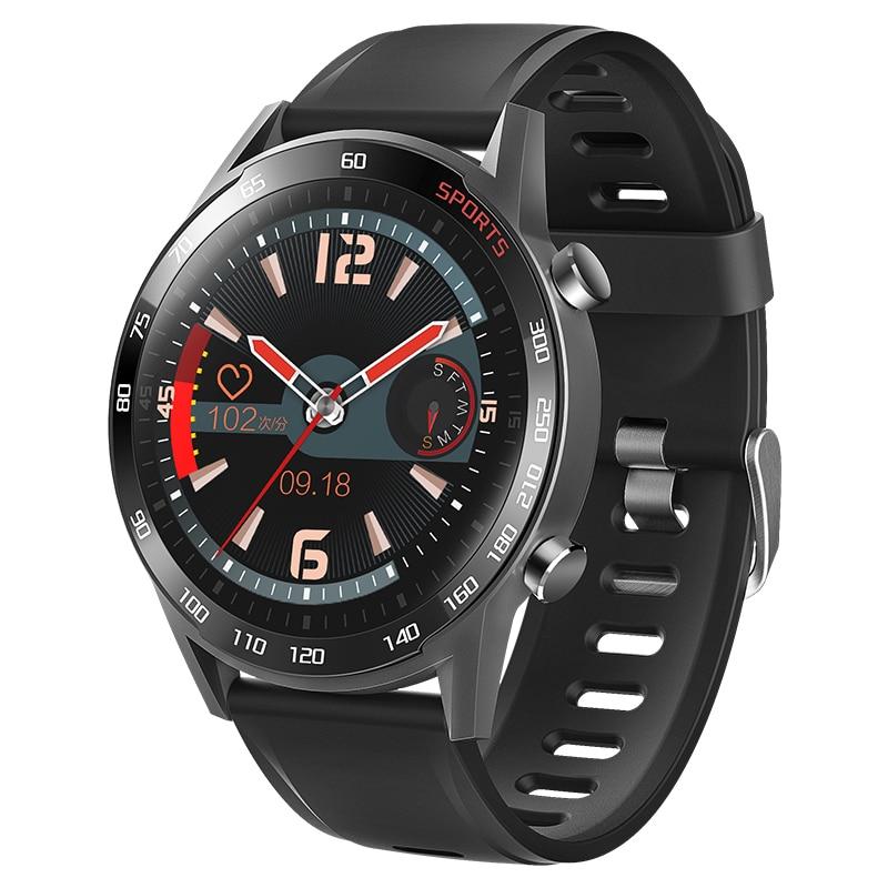 Reloj inteligente de temperatura corporal para hombres, Monitor de presión arterial y oxígeno T23, pulsera de reloj deportivo inteligente Blutooth para ios