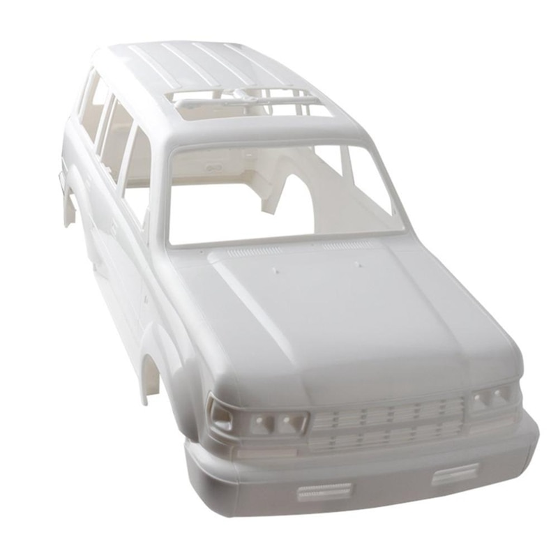 1/10 Land Cruiser LC80 HARD Plastic Body Shell 313Mm Wheelbase for Axial SCX10 Rc Crawler Truck Hz