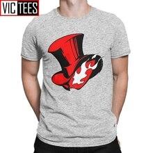 Мужская футболка Persona 5 Phantom Joker Heart Thieves Game Ryuji P5, 100% хлопковая футболка оверсайз