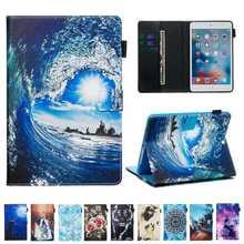 Nouvelle mode imprimé étui en cuir pour Samsung galaxy Tab S5E s5e 10.5 2019 T720 SM-T720 T725 étui pour tablette + film + stylo