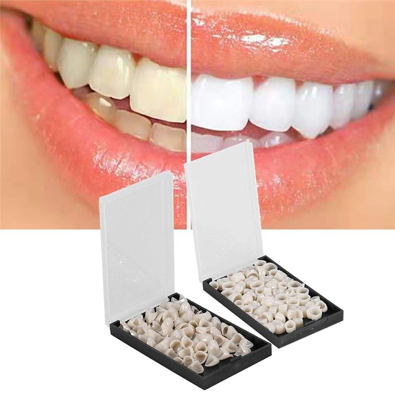 Nuevo coronas provisionales posteriores Molar Anterior frontal/resina dientes tapas Dental