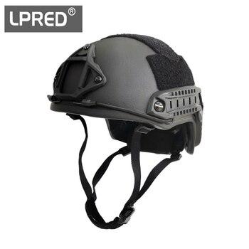 LPRED FAST HDPE NIJ IIIA High Cut Ballistic Helmet XP Cut Bulletproof Helmet Dial Liner