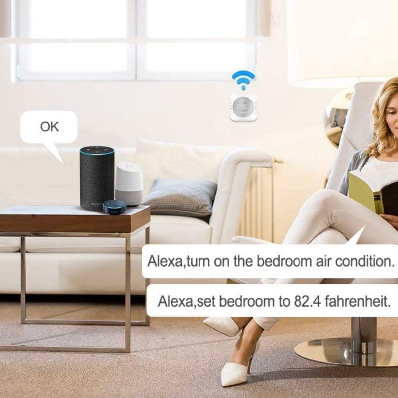 Pompe à chaleur intelligente norme américaine WiFi Thermostat intelligent régulateur de température 72XD