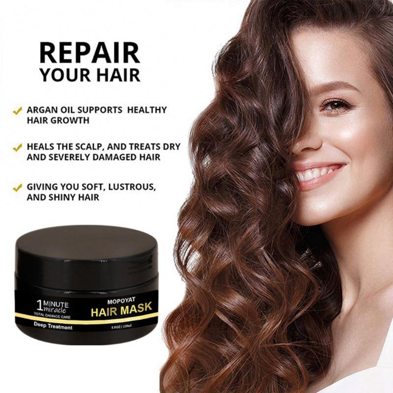 Mascarilla hidratante nutritiva para el cabello tratamiento eficaz para el cabello daño mascarilla para el cuidado del cabello tratamiento para el cuero cabelludo y el cabello caliente