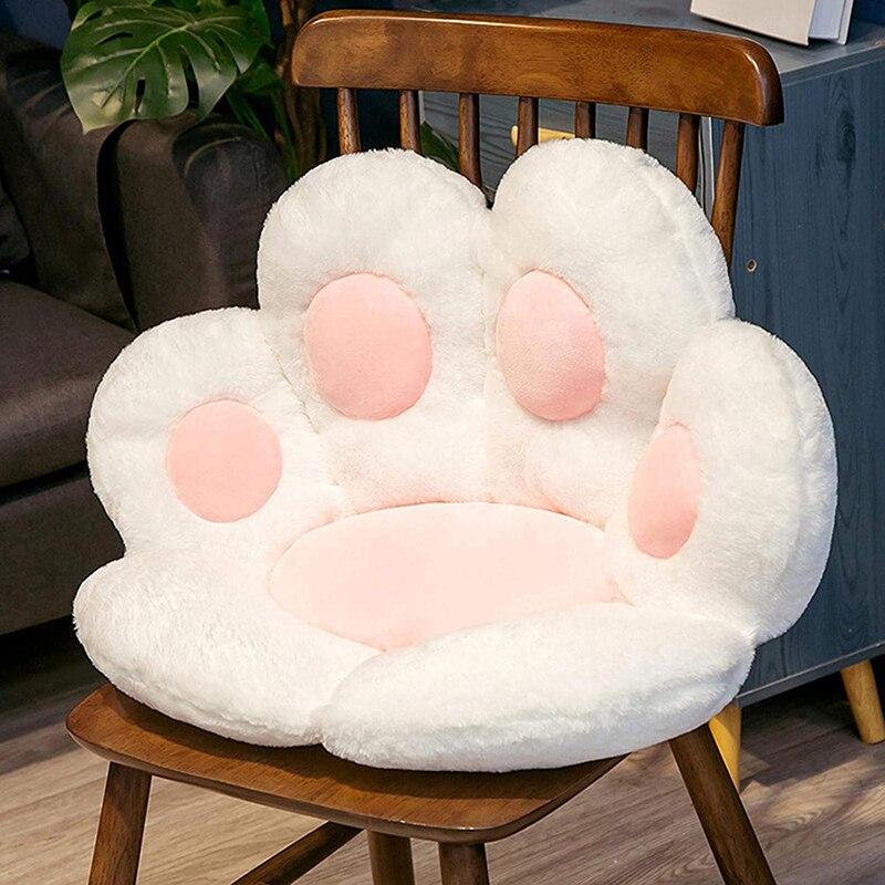 وسادة مقعد القط باو شكل أريكة استرخاء كرسي مكتب وسادة دافئة الجلد ودية الكلمة حصيرة المصممة خصيصا لبناء الصحة