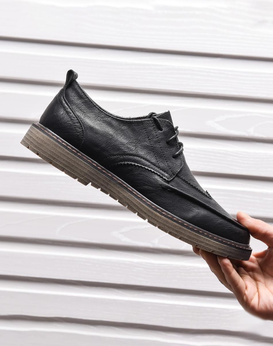 DMZ1 أحذية رجالي الصيف تنفس أحذية من الجلد الرجال الأعمال البريطانية حذاء كاجوال تنوعا أحذية الرجال المألوف