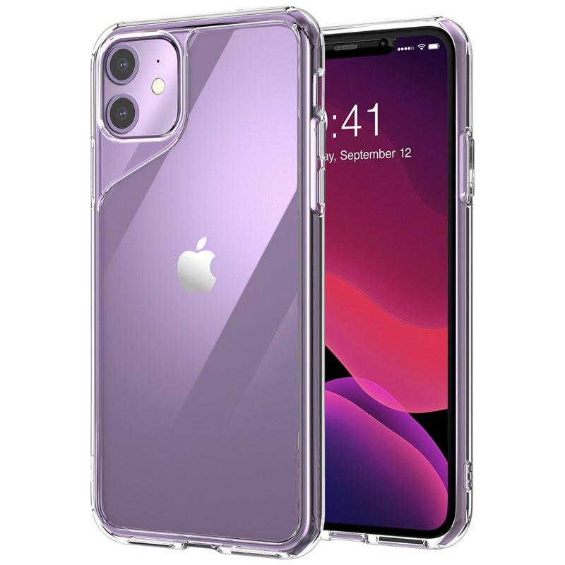 Carcasa para iPhone 11, 6,1 pulgadas (versión 2019), serie i-blason Halo, cubierta trasera transparente resistente a arañazos para iPhone 11, funda de 6,1 pulgadas