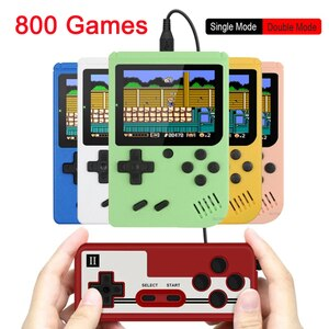 800 IN 1 Retro TV Video Game Console Handheld Game Portable Pocket Game Console Mini Handheld Player for Kids Gift