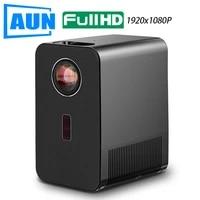 Projecteur Full HD 2020 AUN AKEY7  Beamer 1920x1080P  Video 4K 1080P pour Port HDMI  TV X96Q  Android 10  Home cinema