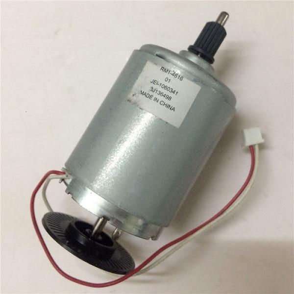 Usado Motor principal RM1-7602 para HP P1102 P1106 M1132 M1130 M1212 1217 para Canon MF3010 MF3014 LBP6000 6018, 6010, 6020, 6030 LBP6040