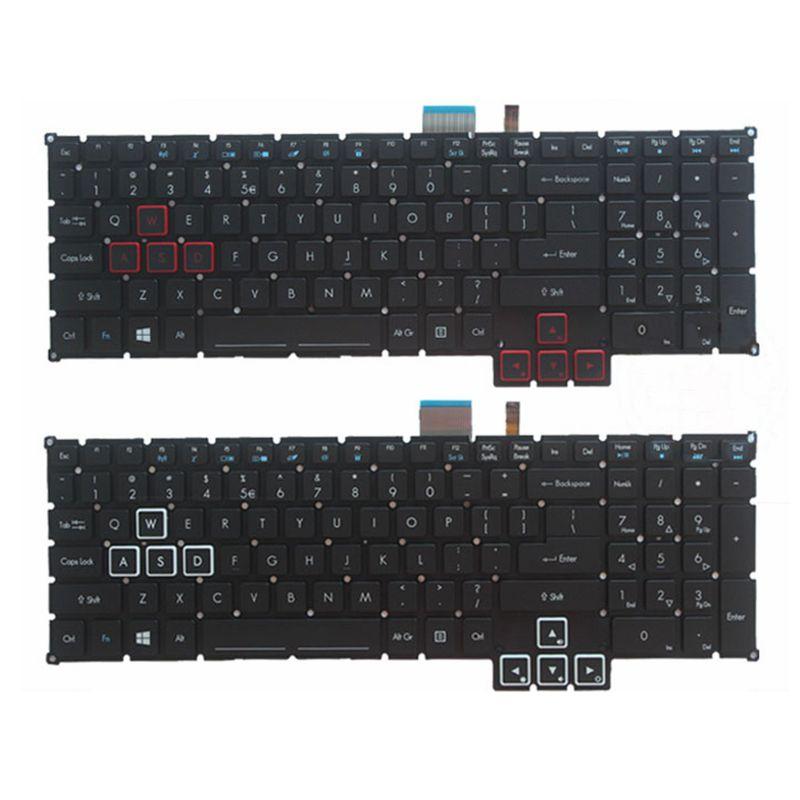 GZEELE جديد ل أيسر المفترس G9-791 G9-791G G9-591 G9-591R G9-591G G9-793 G9-593 G9-792 الولايات المتحدة الخلفية لوحة المفاتيح