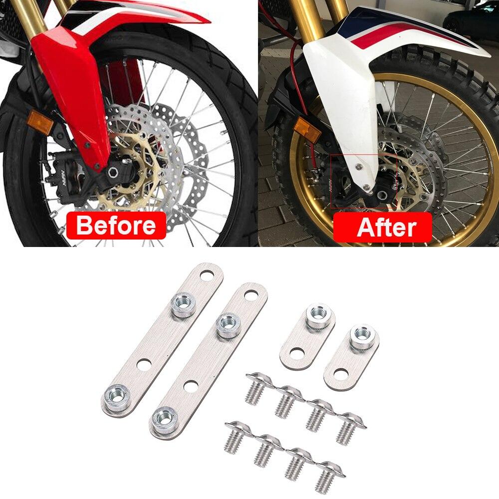 CRF1000L de la motocicleta ajustable frente guardabarros Riser aumento de 15mm para...
