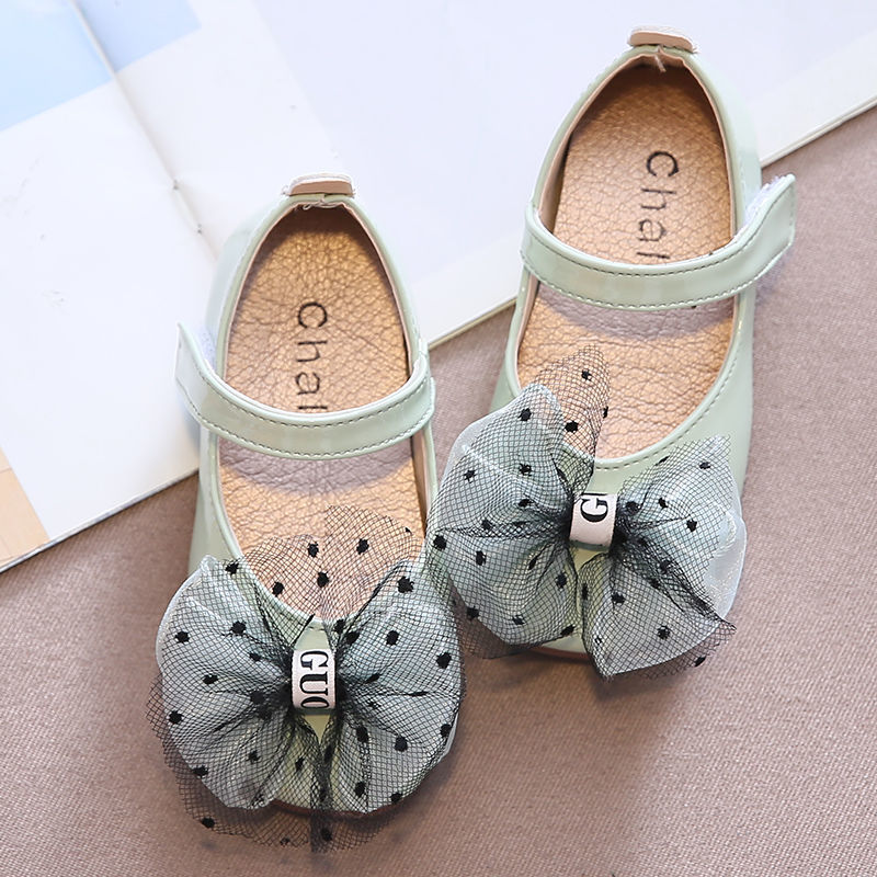 Girls Shoes Princess Bowknot Shoes Baby Kids Children Cute Fashion Shoes Toddlers Non-slip Spring Autumn girls leather shoes children girls baby princess bowknot sneakers pearl diamond single shoes kids dance shoes newest autumn