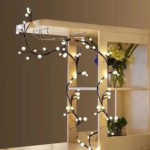 72LEDs Saiten Licht 2,5 M IP44 Warme Weiße LED-String Fairy Lichter Mit Speicher Funktion Für Weihnachten Hochzeit Party dekoration