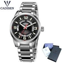 CADISEN C8100 montre pour hommes mis5 8215 automatique mécanique montre haut marque de luxe montre hommes horloge Relogio Masculino relogios