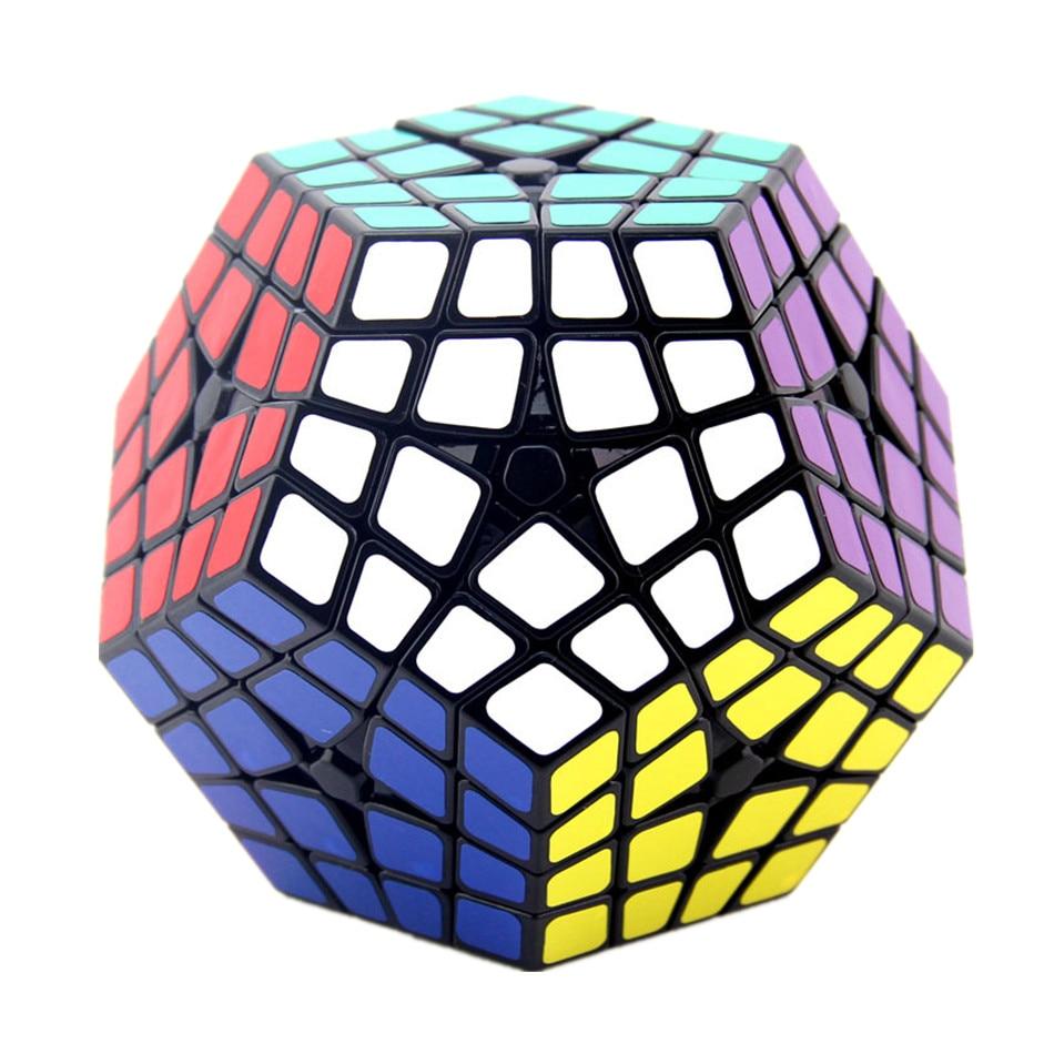 Shengshou-مكعب سحري 4x4x4 ، Shengshou Master Kilominx 4x4 ، مكعب Dodecahedron احترافي ، لعبة ألغاز تعليمية