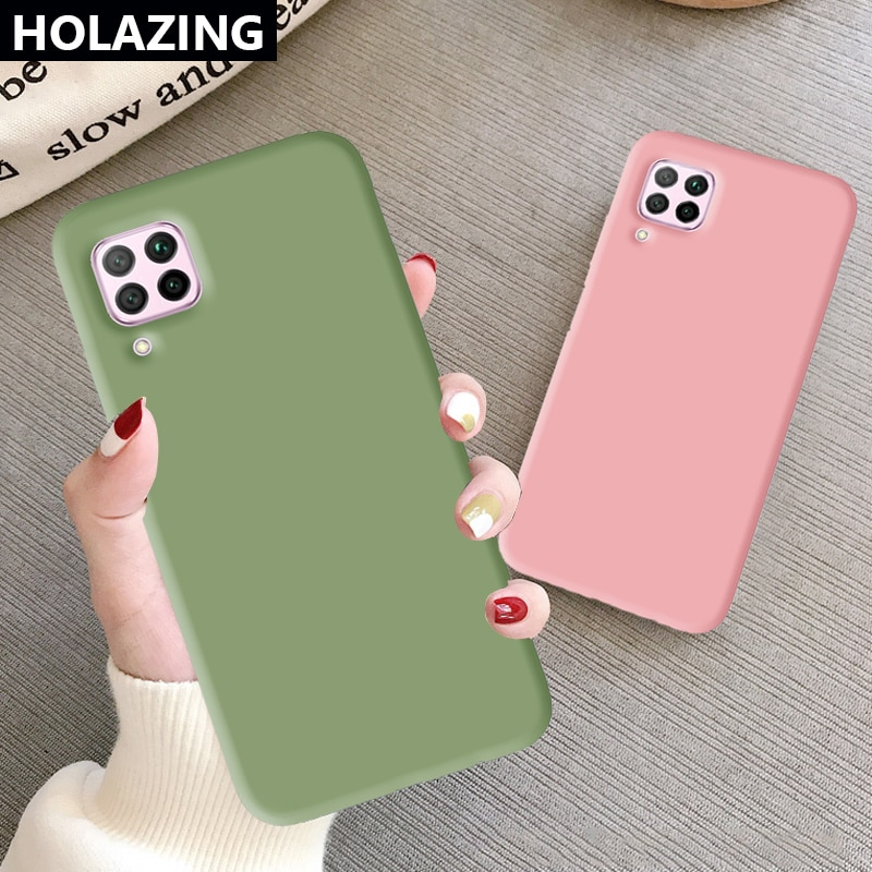 for Huawei Nova 7i 6 7 SE Nova 5T 5 5T 5i Pro 4 4E 3E 3i 3 Silicone Case Candy Colorful Phone Cases Clear Cover Coque Funda
