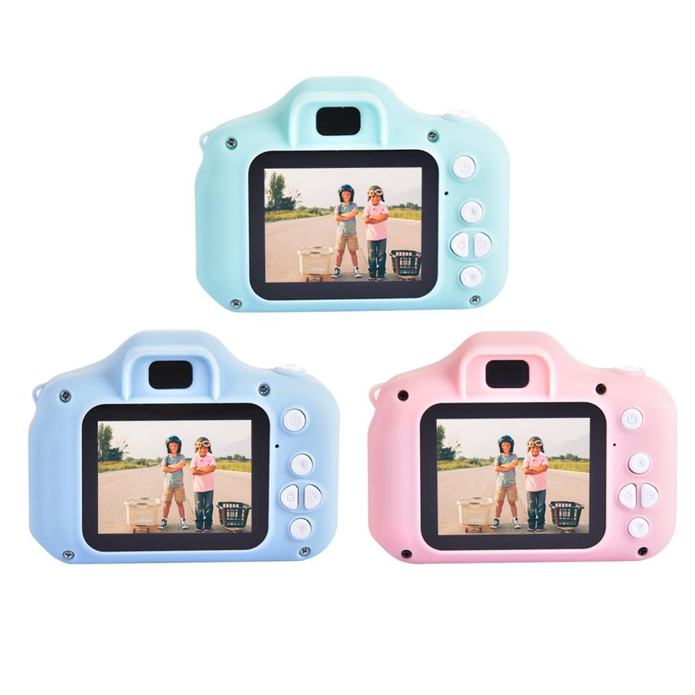 Mini Camera Kids Cartoon Cute Camera Toys Kids Camera 12MP HD 1080P Digital Cameras Video Recorder O