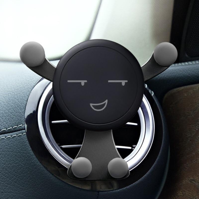 1pcs Universal Car Air Outlet Vent Mount Car Holder Stand Smartphone Mobile Phone Holder Bracket Aut