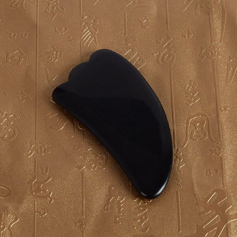 Parte Facial raspando obsidiana garra en forma de UDS parte Facial belleza, cuidado de la salud oferta de suministro de productos