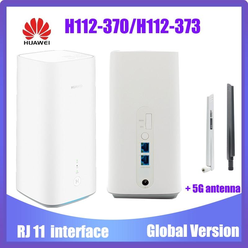 New Original Huawei 5G CPE Pro H112-370 H112-373 5G NSA+SA(n41/n77/n78/n79) LTE CPE Wireless Router pk Huawei B818