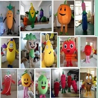 advertising fruits vegetables theme anime cosplay mascot costume red tomato pepper pumpkin cabbage party game dress adults size