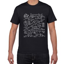 Formules mathématiques Science T-Shirt hommes coton créatif drôle T-Shirt hommes cool été nouveauté T-Shirt Homme GEEK haut T-Shirt hommes vêtements
